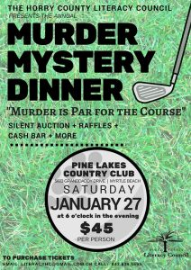 Murder Mystery Dinner @ Pine Lakes Golf and Country Club | Myrtle Beach | South Carolina | United States
