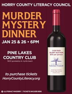 13th Annual Murder Mystery Dinner and Silent Auction - Saturday @ Pine Lakes Country Club | Myrtle Beach | South Carolina | United States